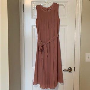 Ann Taylor pleated dress size 4.